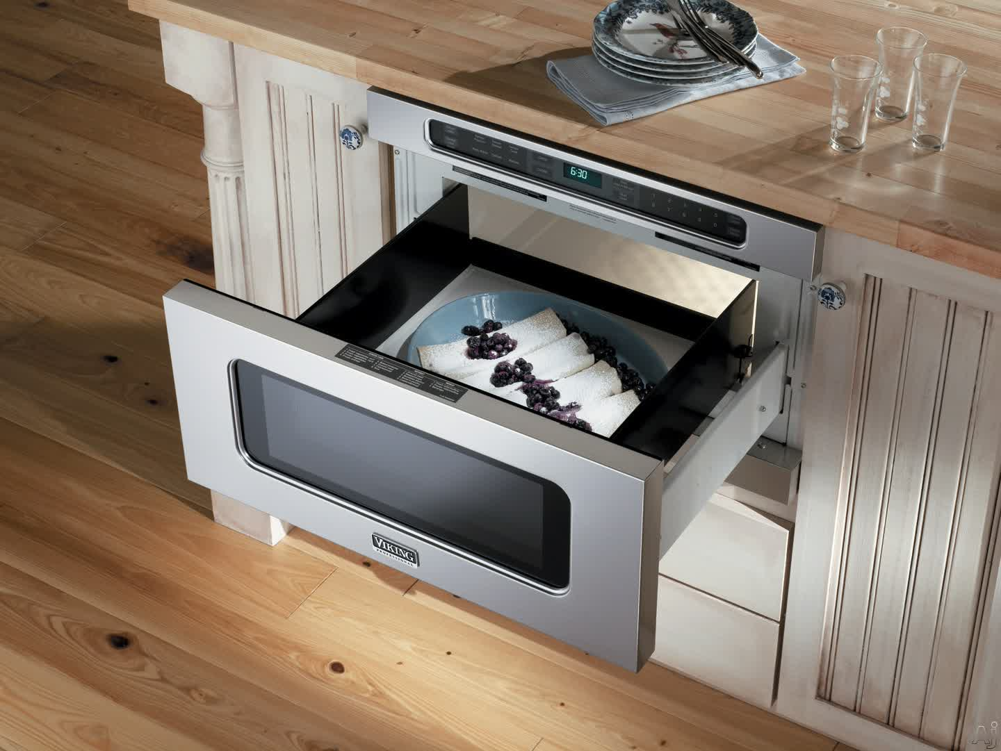 Viking 24inch Drawermicro Oven Vmod241ss With Sleek Style