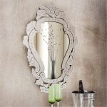 Vintage looking mirror in beautiful frame