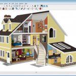 Virtual home design in 3D created by using home designer software