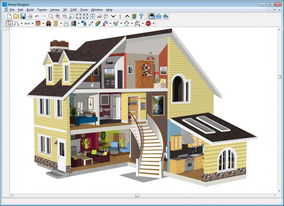 Design your own home using best house design software for Create your own virtual house