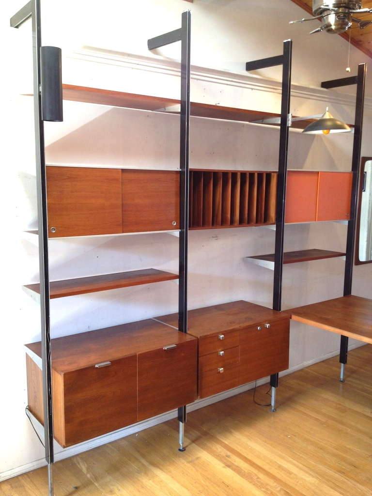 Wall Unit With Desk Smart Storage Solution For Home