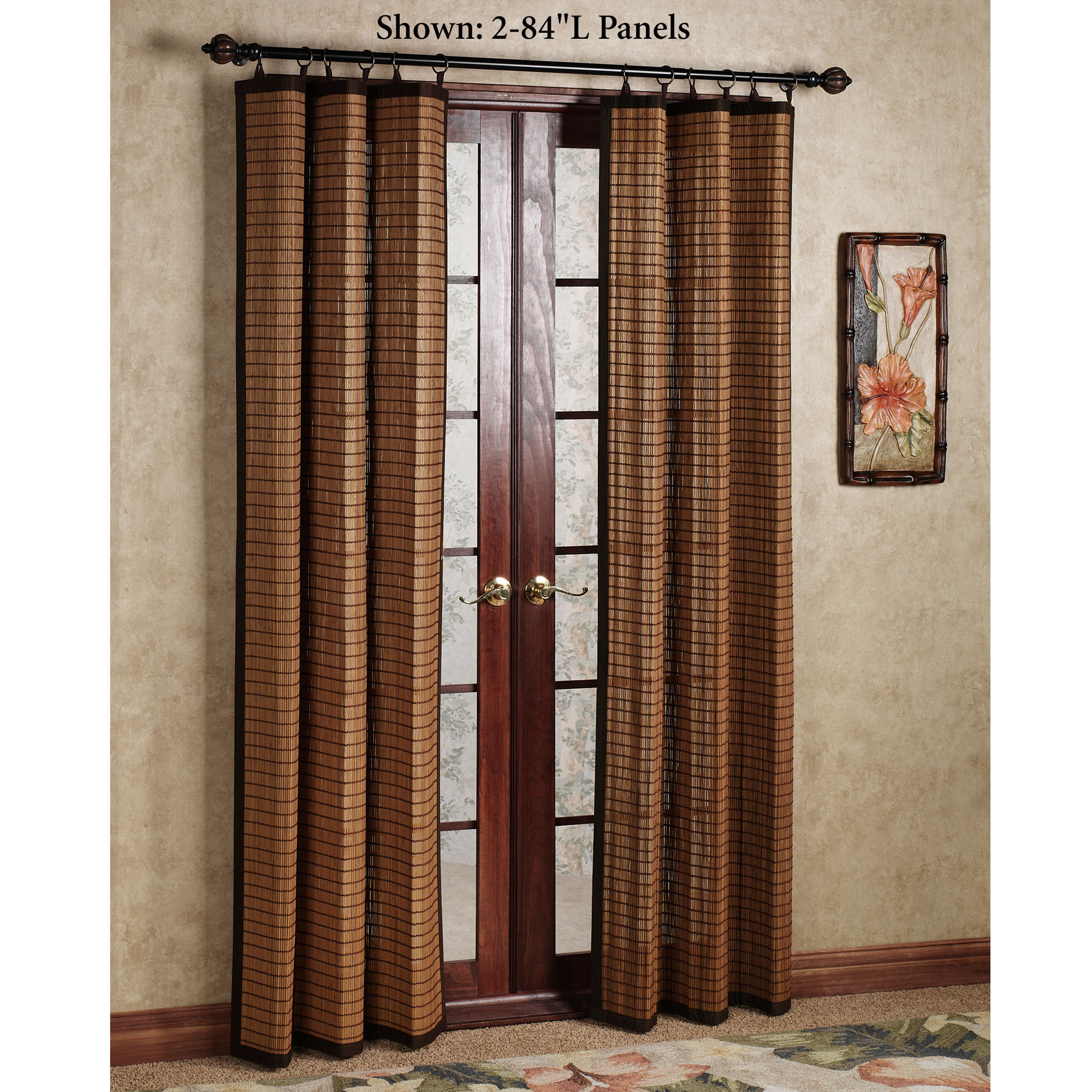 Door Panel Curtains : Curtains for doorways ideas homesfeed