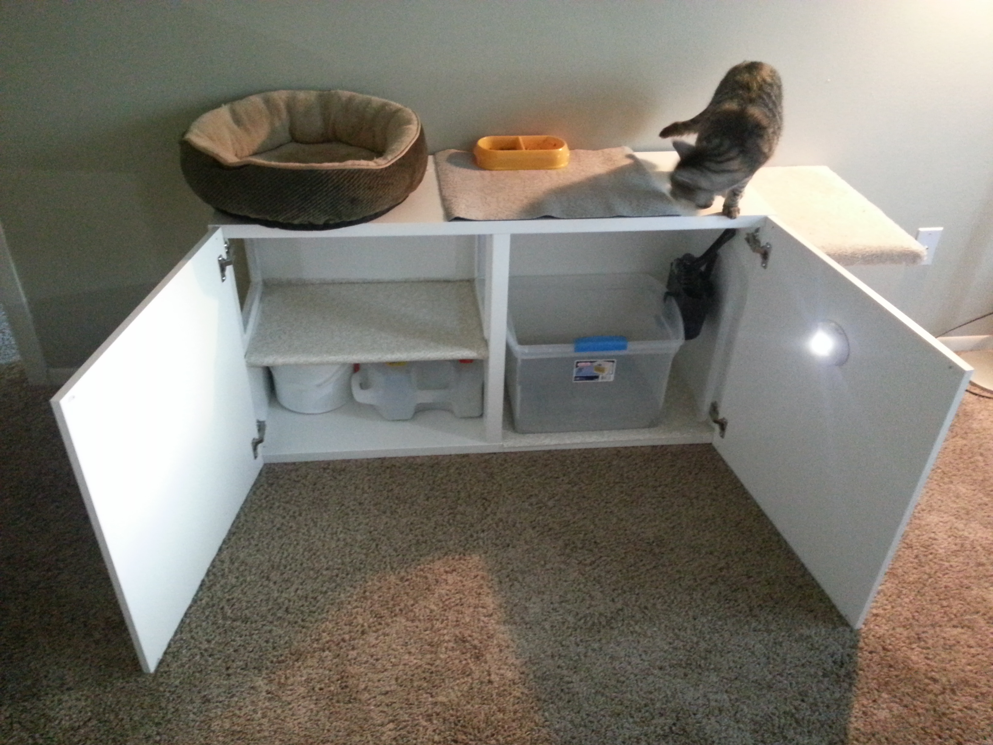 Cat Litter Box Furniture Ikea | HomesFeed
