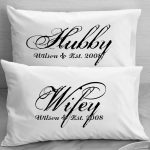 White Pillow Cases With Words