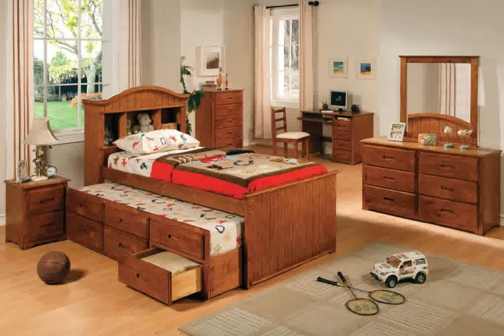 Trundle Beds With Storage Designs