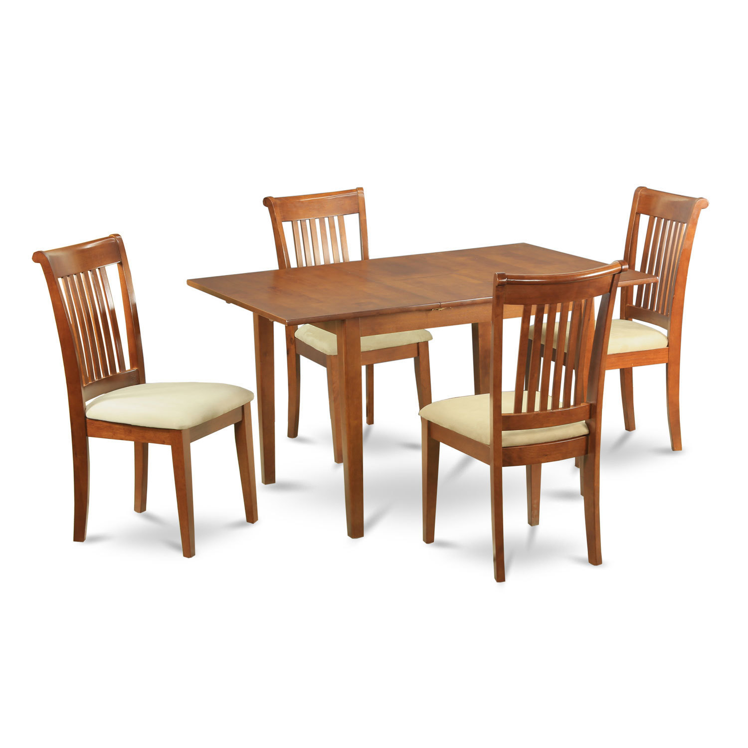 Small dinette set design homesfeed for Dining room table and 4 chairs