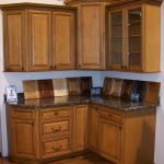 Wooden kitchen cabinet clearance idea for small kitchen