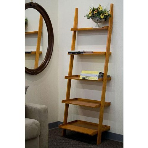 Leaning Ladder Bookcase HomesFeed