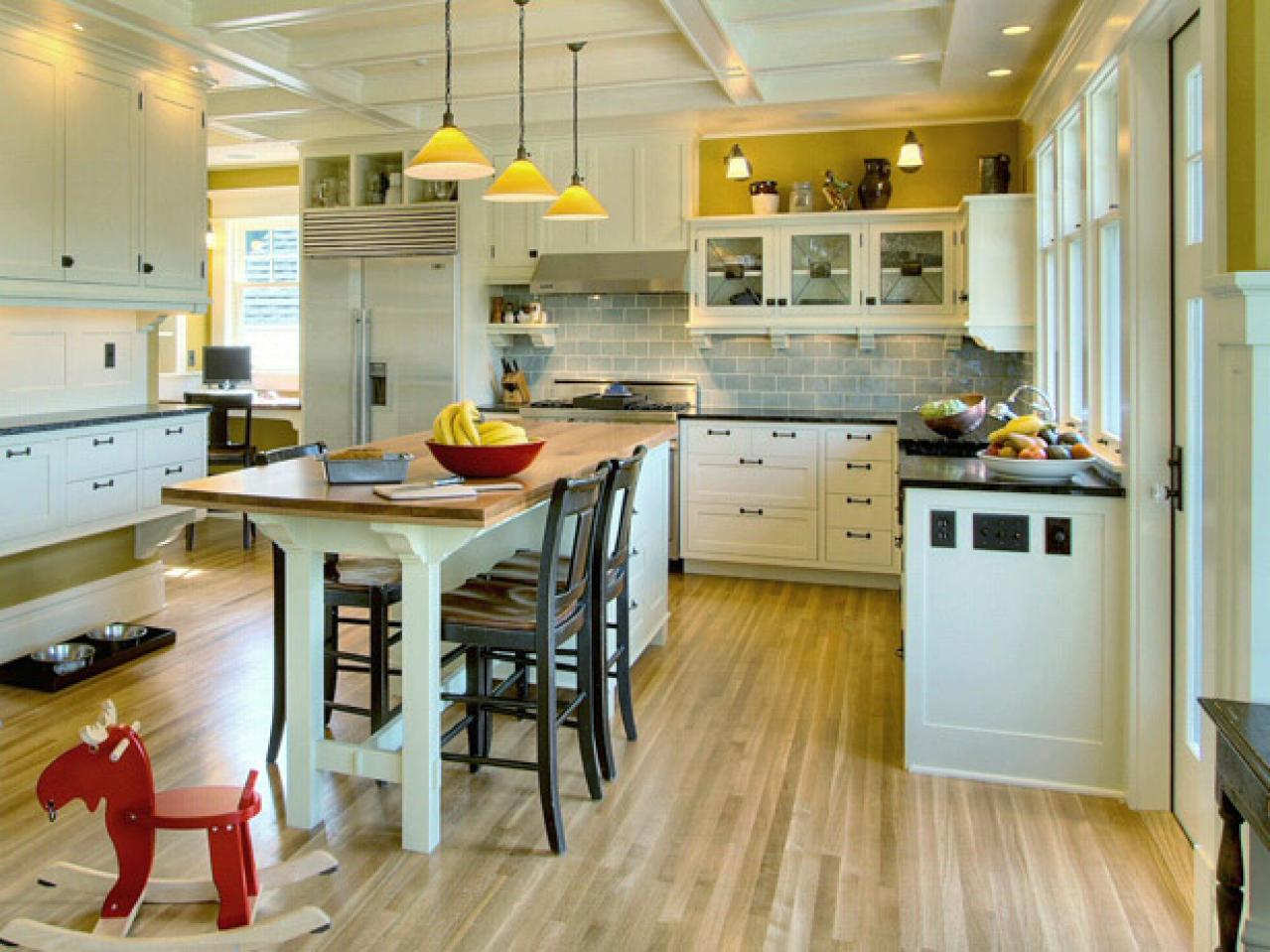 Kitchen Island Table Combination kitchen island table combination: a practical and double