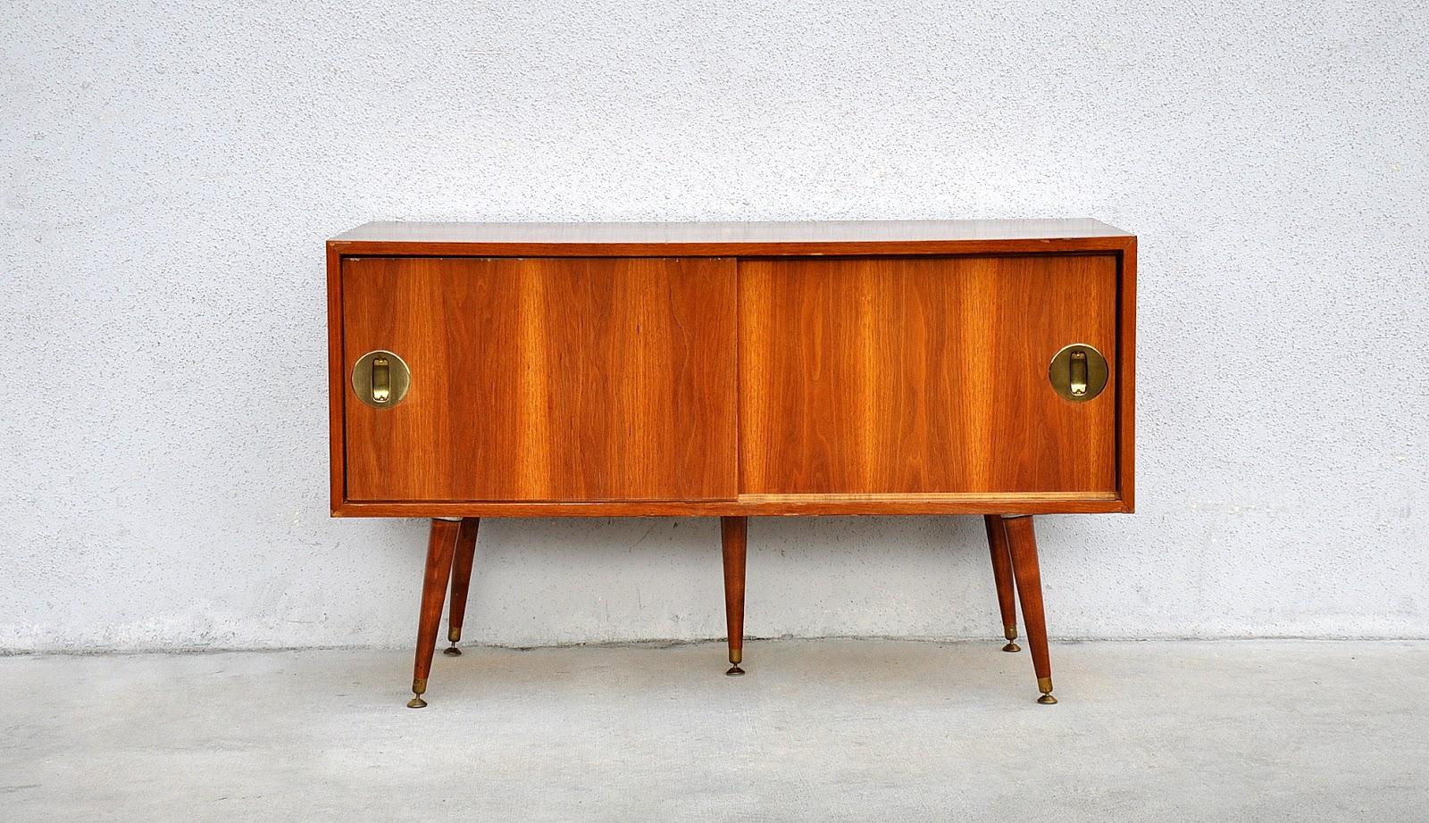 Wooden vintage bar cabinet design mid century modern