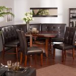 Wound Nook Table And Chairs Of Dining Room Sets Brown Rug Fresh Flower
