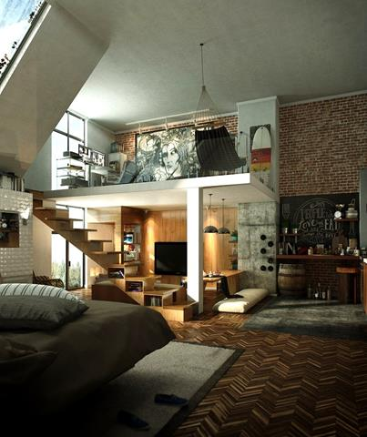 best interior design touched with loft idea homesfeed