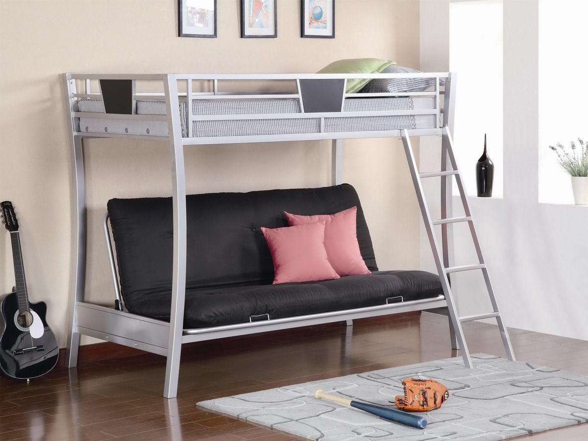Arranging New Look In The Bedroom With Convertible Bunk