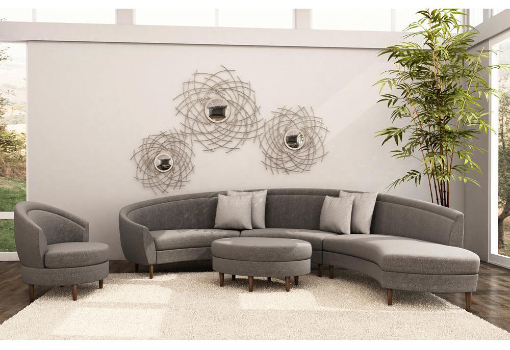 Gray Sectional Sofa With Chaise Luxurious Furniture
