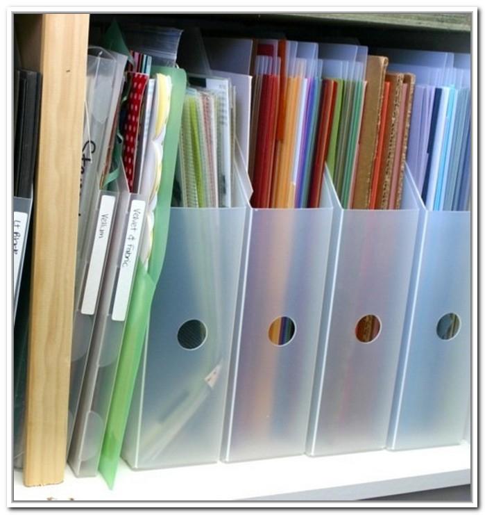 Having Scrapbook Paper Organizer: Reducing Messy Desk ...