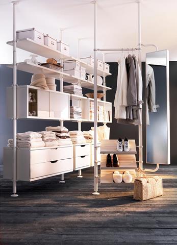 Unique dress up storage ready for the party homesfeed for Ikea ventilatori da soffitto