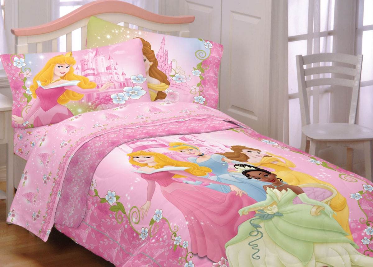 Princess Bedding Perfect Bed For Girls Homesfeed