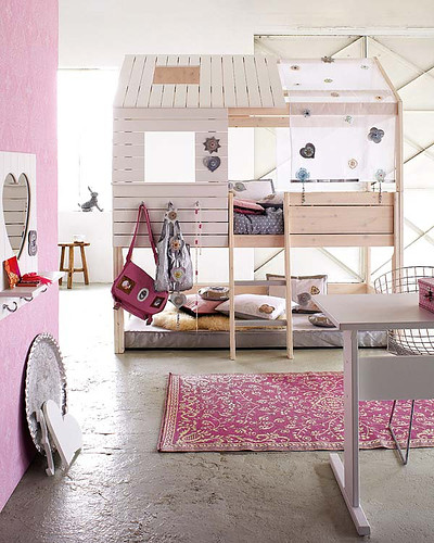amazing kids treehouse bed for girls with open