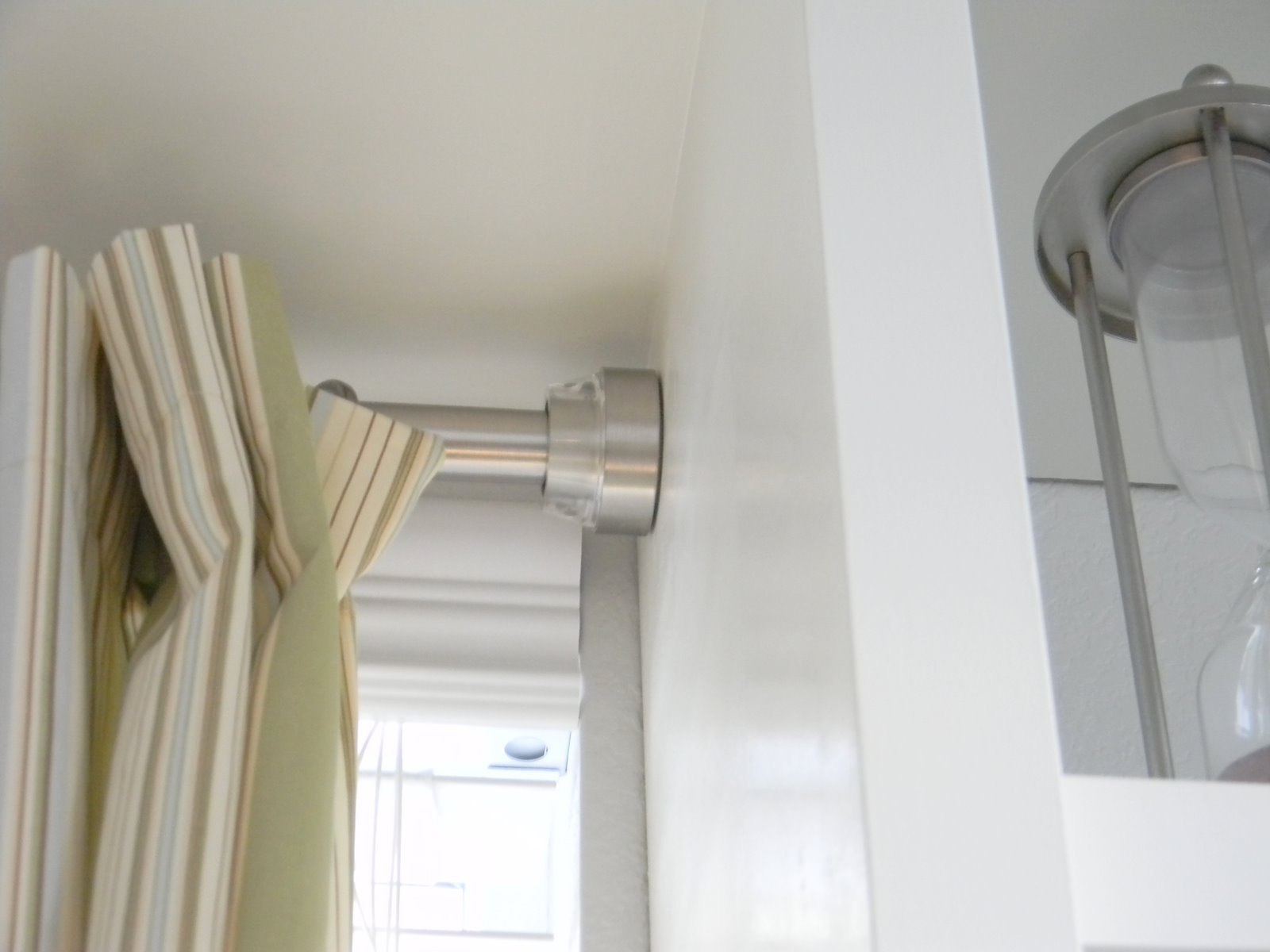 Curtain Rod Shelf
