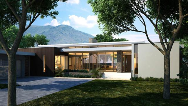 Best single level house plan for modern retreat homesfeed for One level homes
