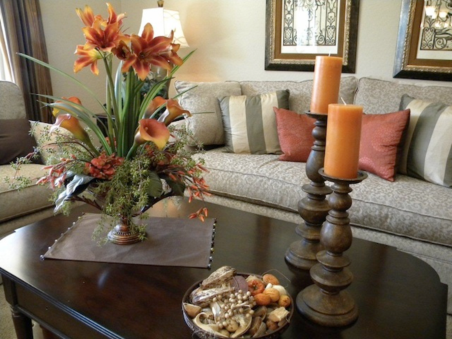 Centerpieces for table in everyday life homesfeed Coffee table centerpiece