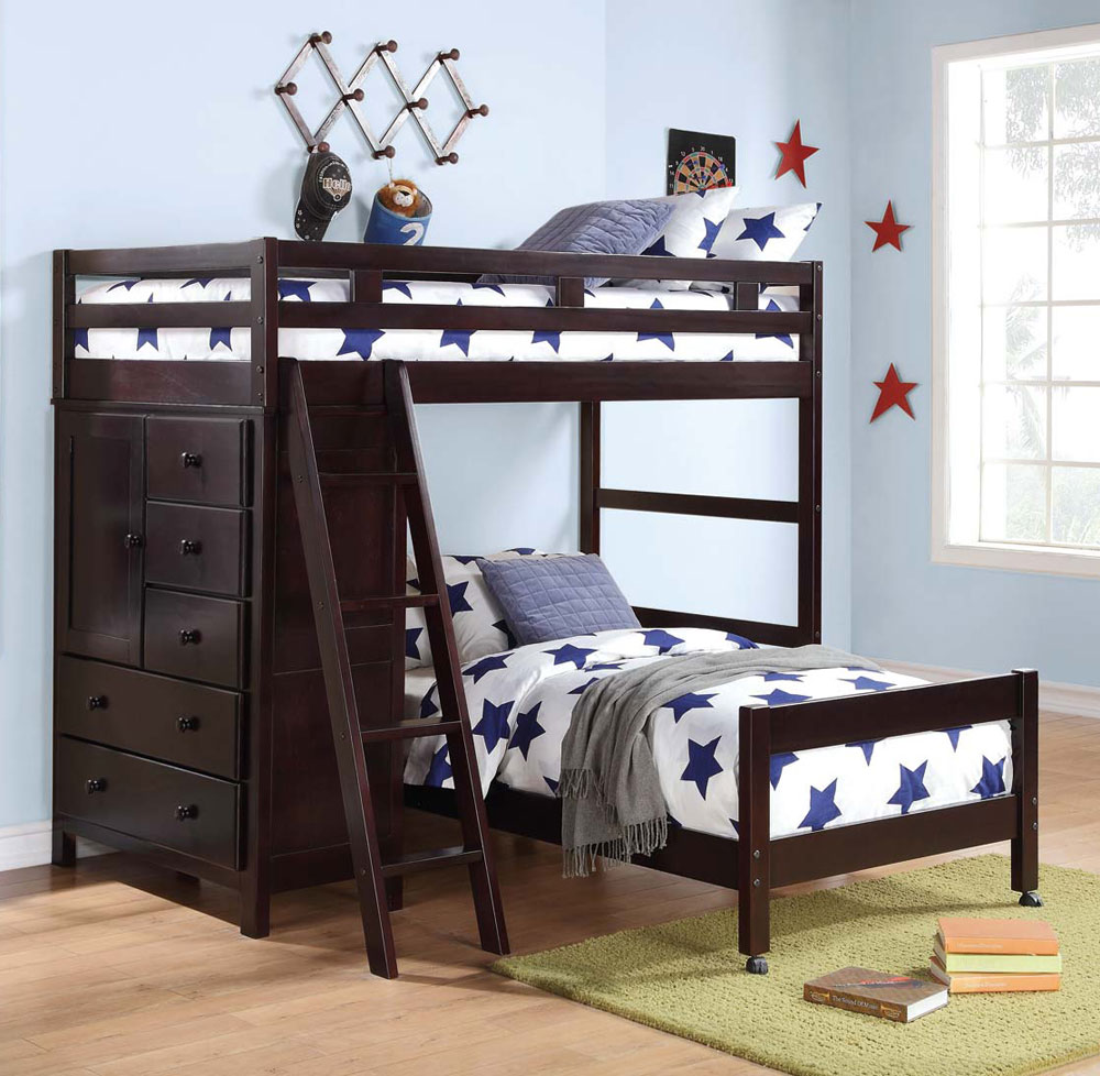 Bunk Bedideas: Pics Of Bunk Bed Colors And Patterns HomesFeed