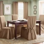 casual-and-elegant-Sure-Fit-Cotton-Duck-Long-Dining-Room-Chair-Slipcover-in-cream-color-with-maximum-Seat-Back-Height-40-up-to-42-and-features-back-tie-closure