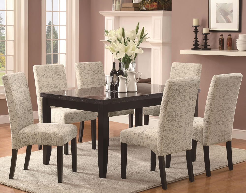 Upholstery Ideas For Dining Room Chairs Best Dining Room 2017