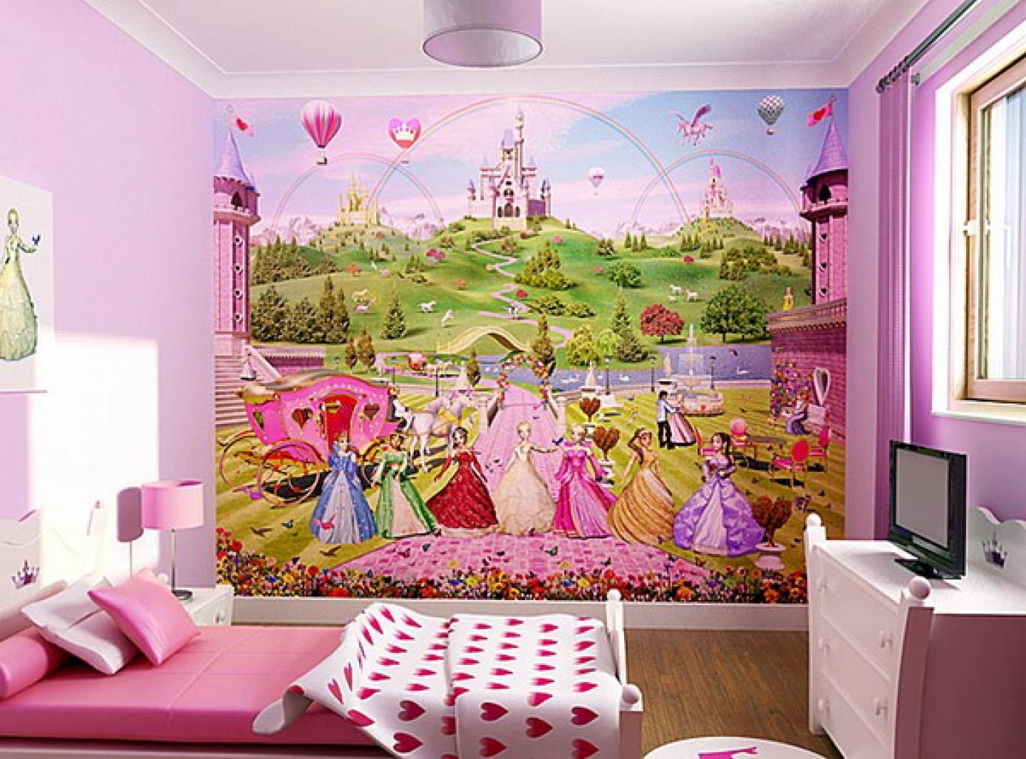 Princess Bedrooms For Girls Princess Bedding Perfect Bed For Girls Homesfeed