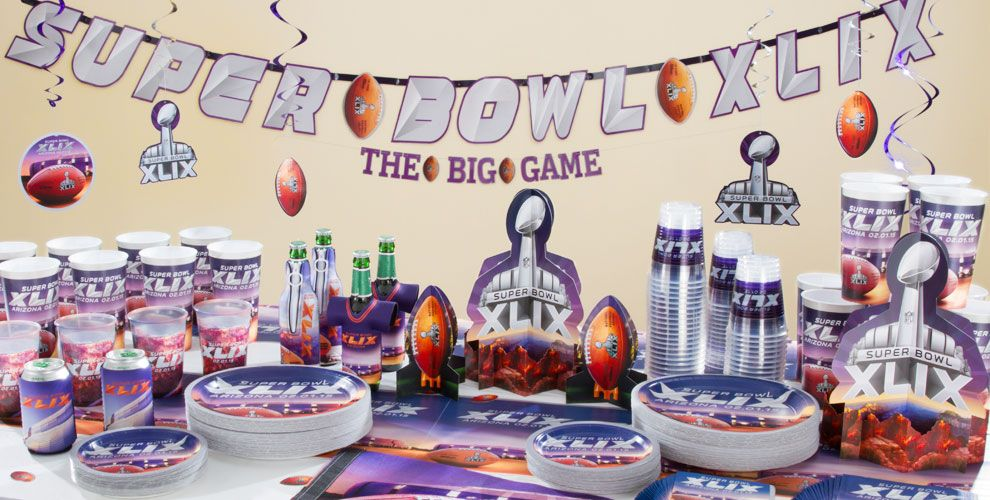 Super Bowl Party Decorations Uk Delectable Super Bowl Party Ideas Ukfootball Partyfootball Themed Inspiration Design