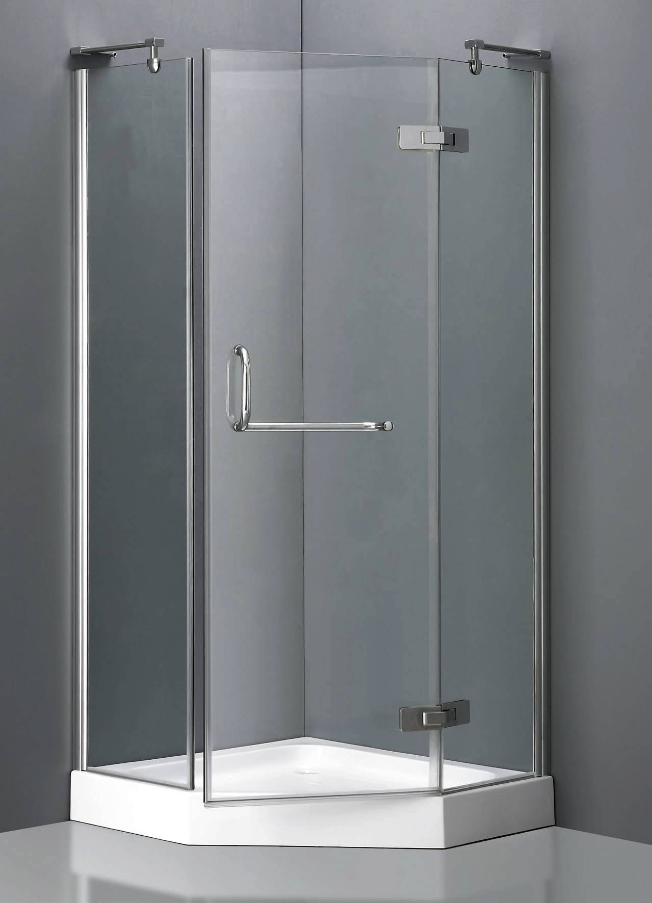 Corner Shower Units For Small Bathroom Solving Space