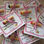 creative diy daycare teacher gifts design of glue stick with card and ribbon