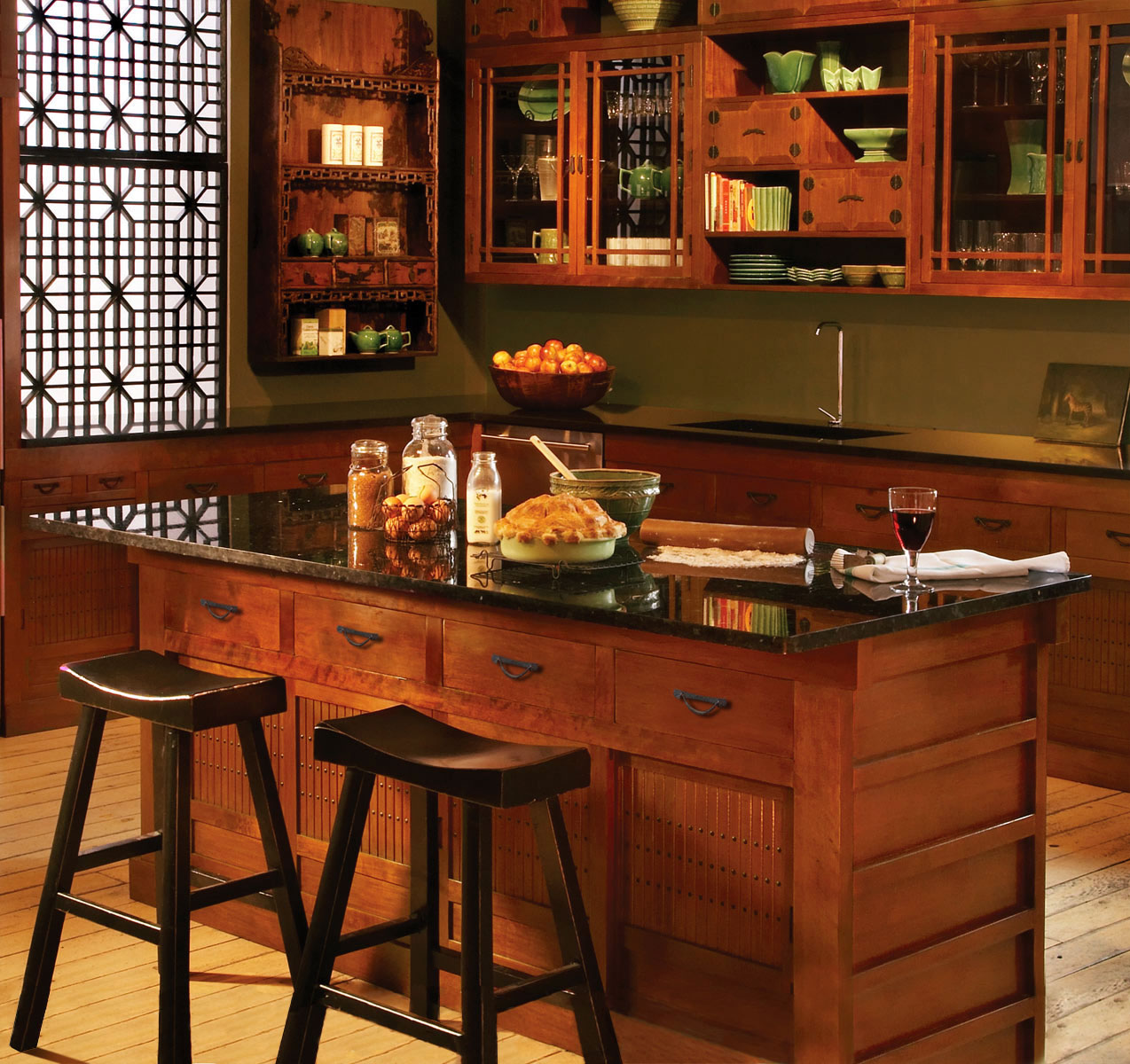 Best shaping home bar idea spotting hang out corner for Traditional wooden kitchens