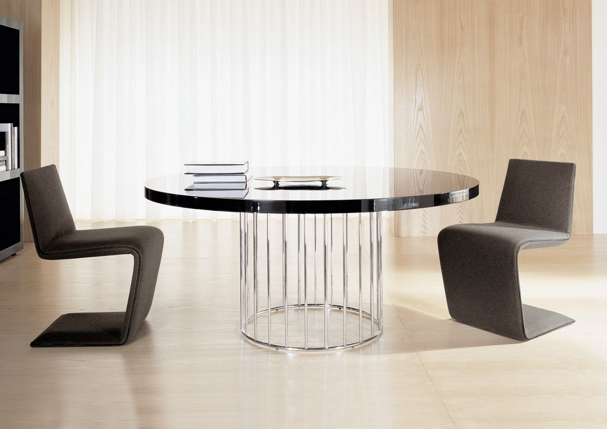 Fascinating dining room chair ideas homesfeed for Round table furniture chair table design