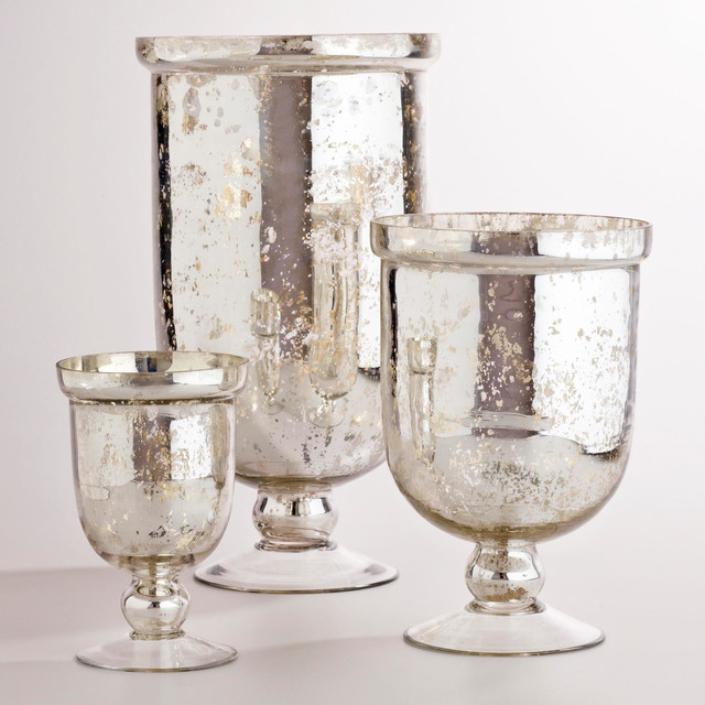 Mirrored candle holders to beautify your hallway homesfeed for Christmas candle displays