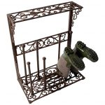 fancy-large-iron-boots-rack-as-shoe-rack-designed-by-fallen-fruits-with-classic-style