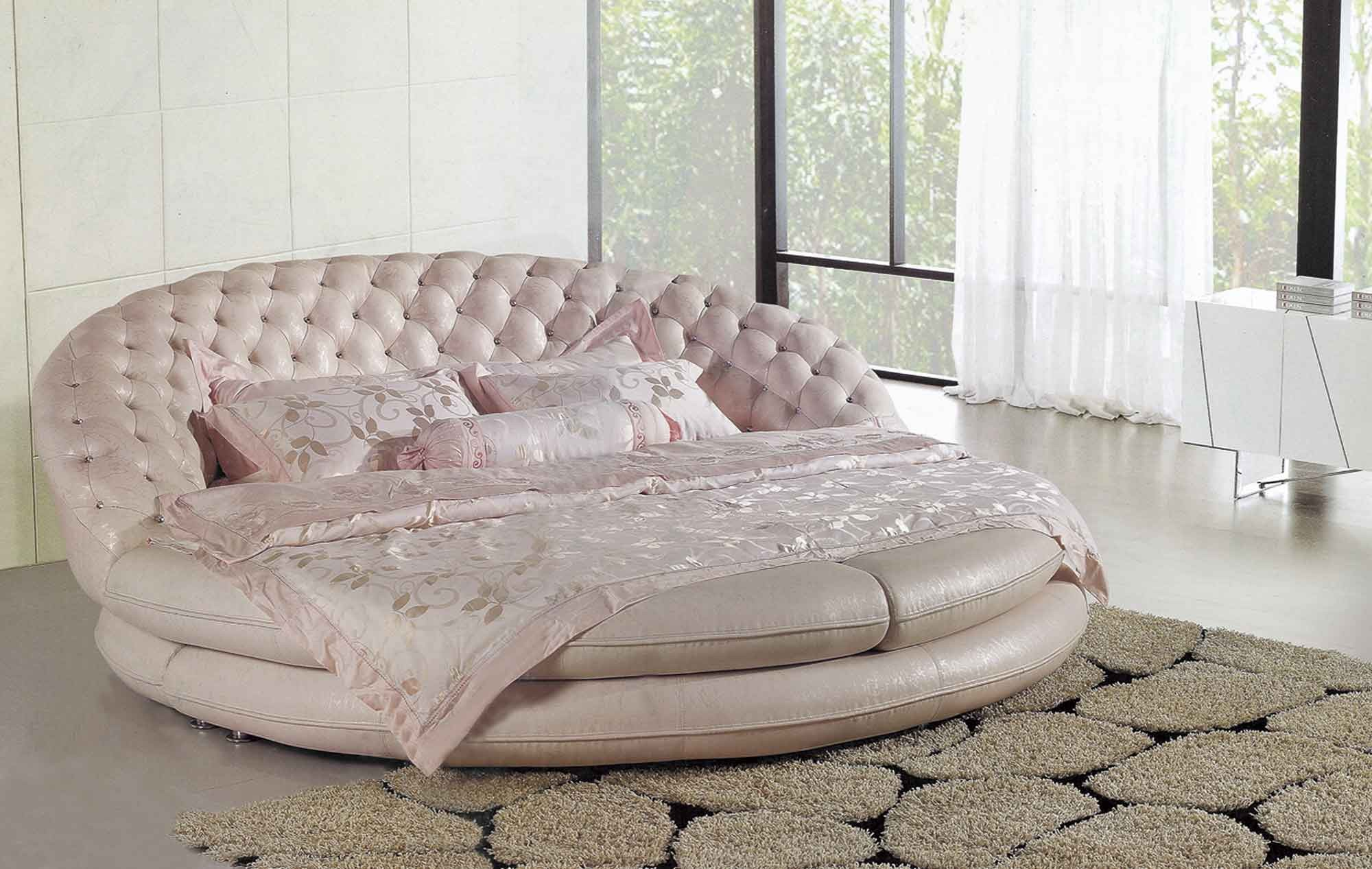 Circle bed for sale royal luxury round bed no pinterest for Round bed for kids