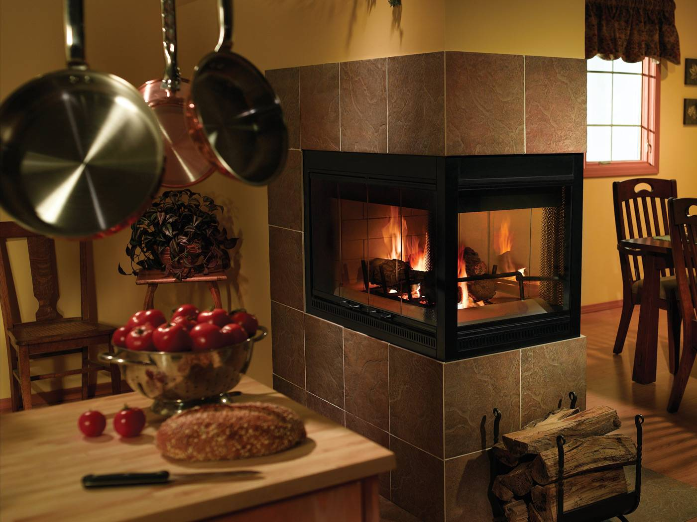 3 Sided Fireplace Best Prep For Winter Homesfeed