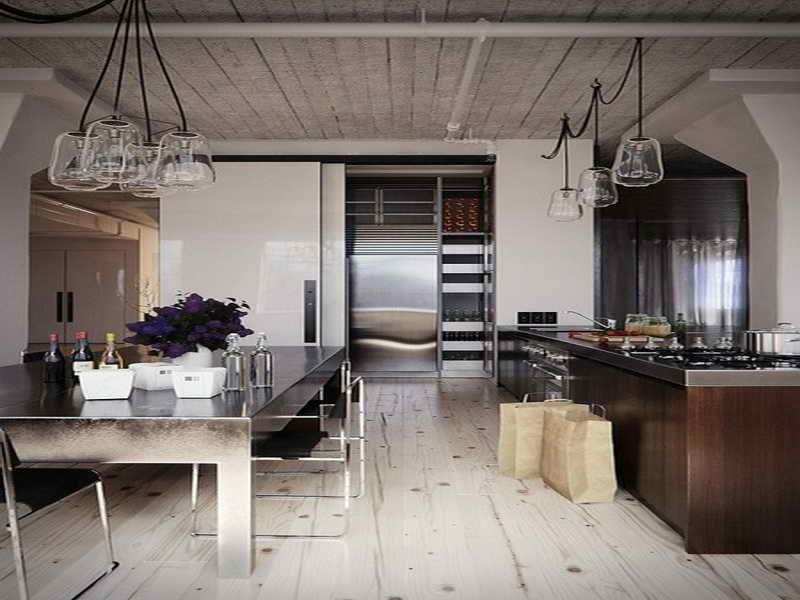 Small Modern Prefab Home With Industrial Accent Homesfeed