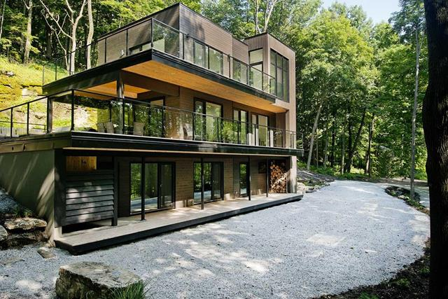 Perfect forest house ideas heaven for nature lover for Forest house