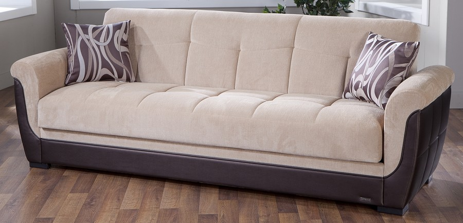 Sofa Designs for Living Room   HomesFeed high quality and comfortable white and brown sofa . High Quality Living Room Furniture. Home Design Ideas