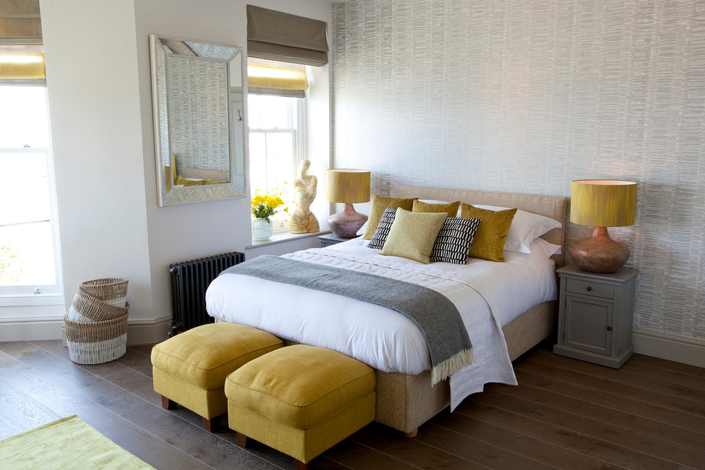 Yellow and Gray Bedroom Decor – Neutral Meets Cheerful Nuance ...