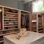 modern closet ideas with tidy shoes belt storage ideas