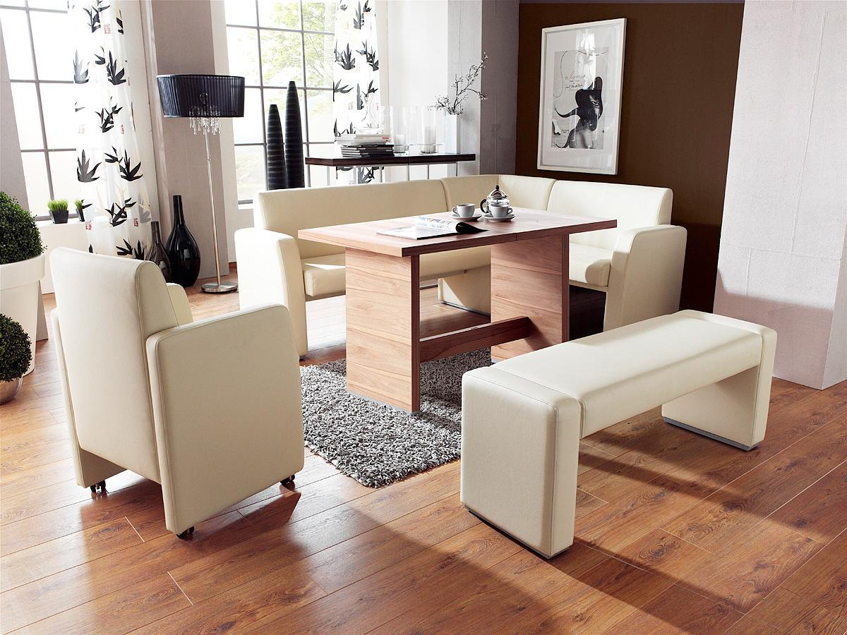 Corner Dining Table Set: a Choice of Minimalism