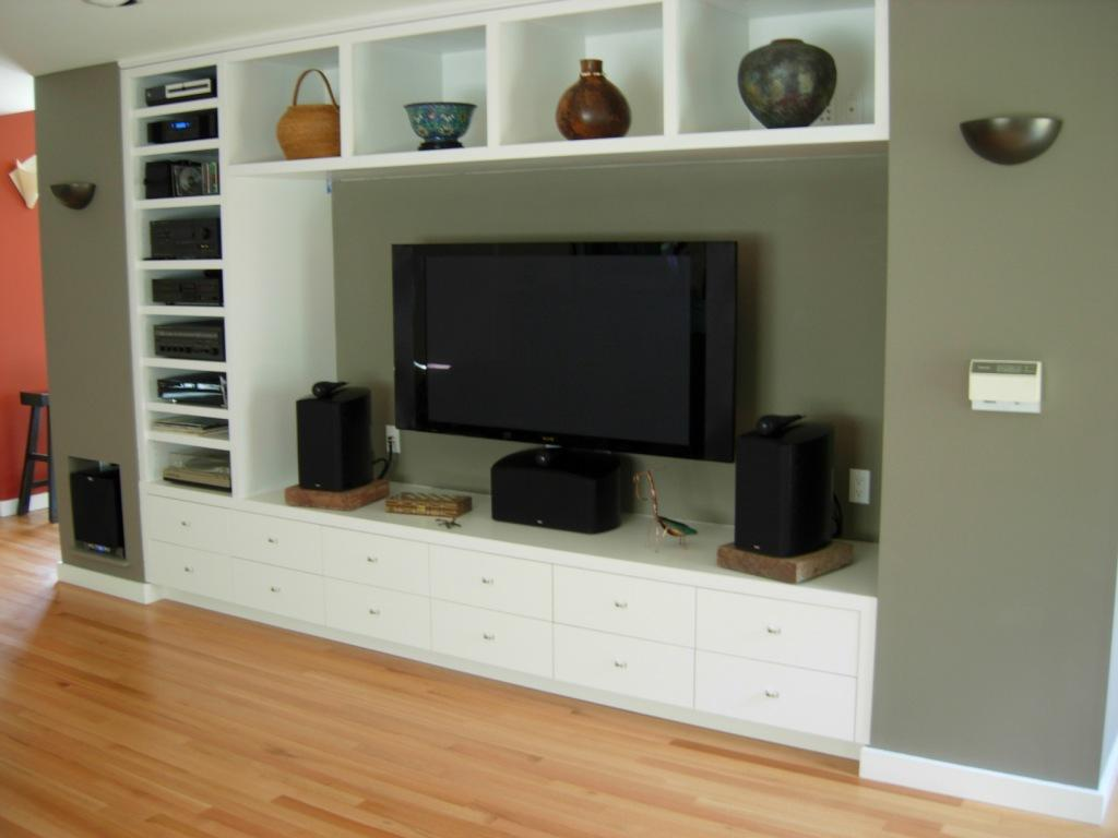 10 best designs of in wall entertainment center you may be Design plans for entertainment center