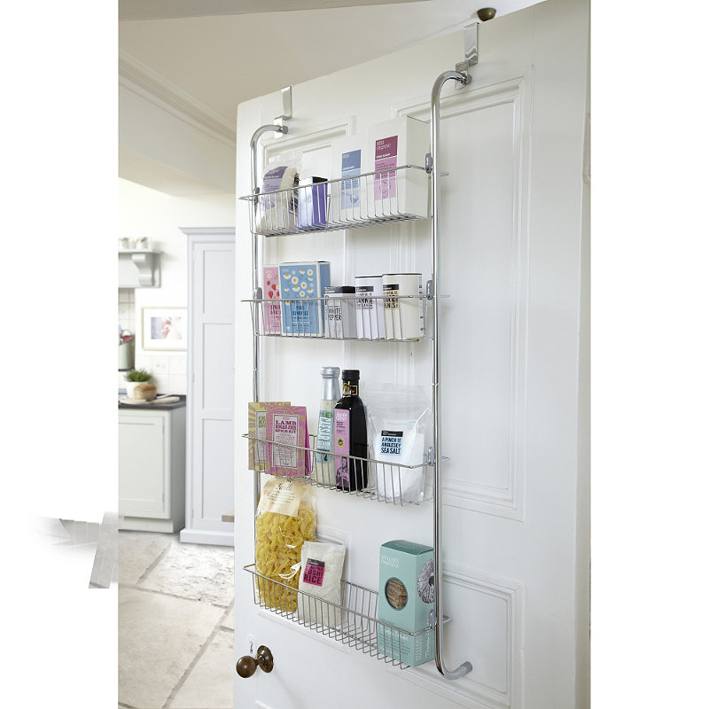 Over the Door Basket Storage the Nuance of Functional and – Over Cabinet Door Storage