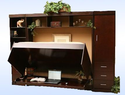 Exceptional Multipurpose Furniture A Desk Turns To Bed With