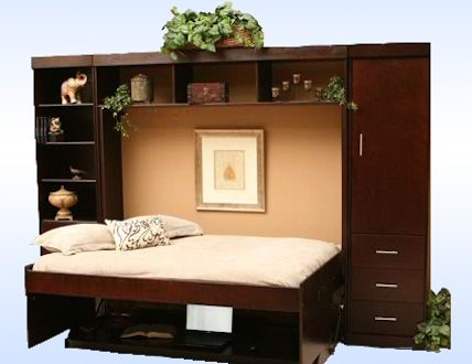 Multipurpose Furniture A Desk Turns To Bed With