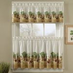 playful harvest jcpenney kitchen curtain design oattern with farm picture and sleeve and double short size curtain