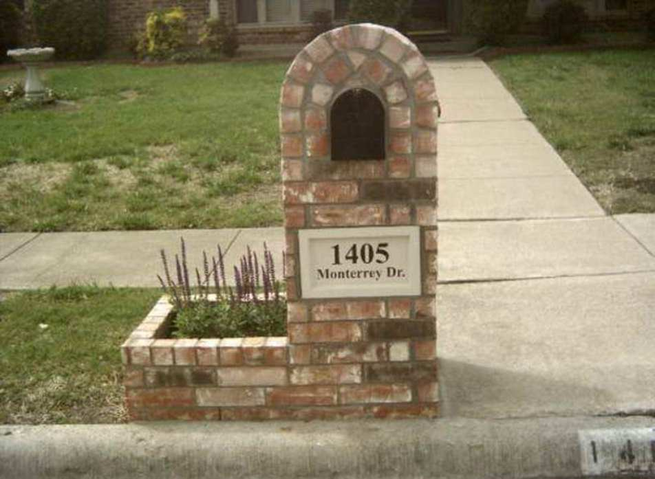 ... Garden and Patio » Make Your Post Envious with Brick Mailbox Designs